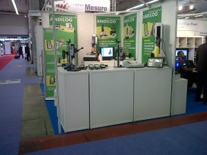 Stand d'Andilog lors de Mesurexpo 2010