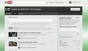 Chaîne Youtube d'Andilog
